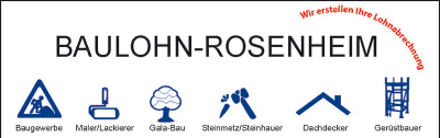 Baulohn Rosenheim